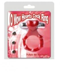 טבעת זיקפה רוטטת-לב