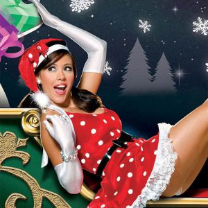 שמלת סנטה קלאוס לאישה